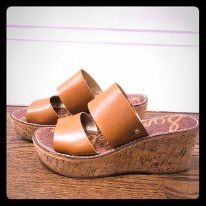 Sam Edelman Platform wedge sandal , Size 6.5